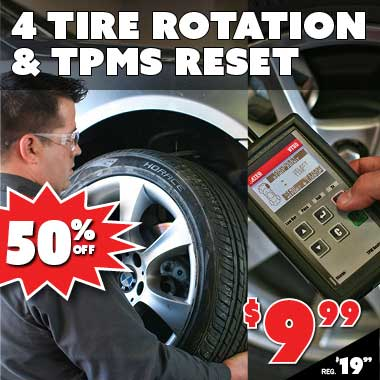 Tire Rotation and TPMS Reset